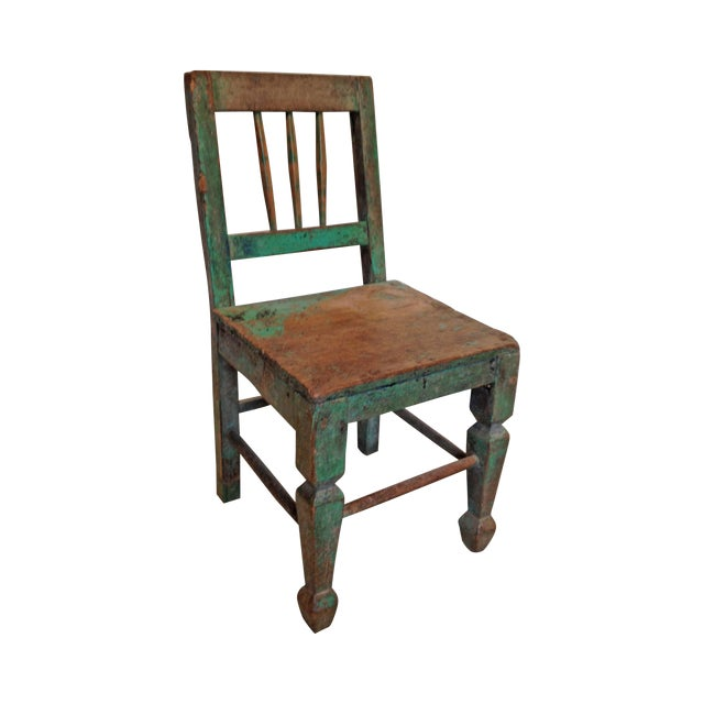 1940s Rustic Children's Chair - Image 1 of 5