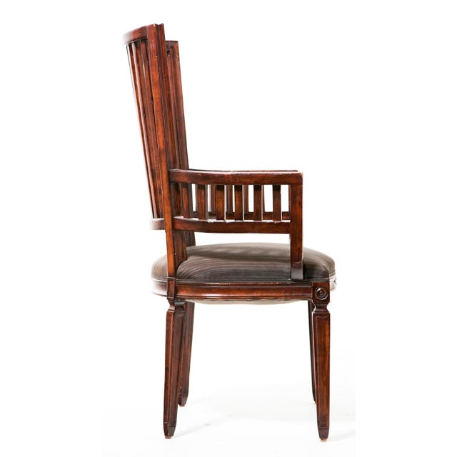Chippendale 20th Century Rose Tarlow Armchairs - a Pair For Sale - Image 3 of 5