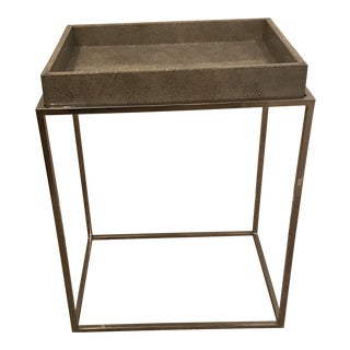 Transitional Theodore Alexander Accent Table For Sale