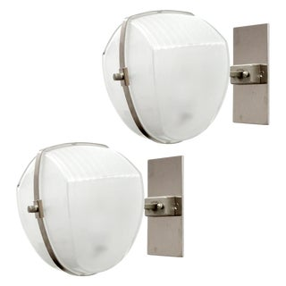Vico Magistretti 'Omicron' Wall Lights, 1960 - a Pair For Sale