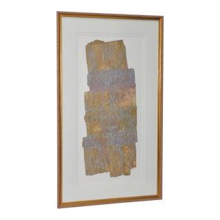"Janet Jones ""Badlands"" Etching W/ Aquatint C.1983 For Sale"