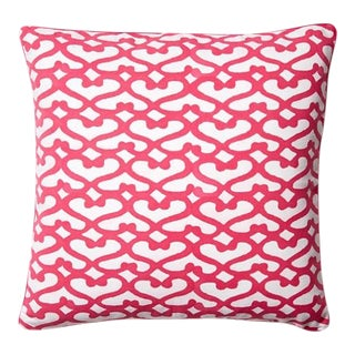Pink Roberta Roller Rabbit Pillow Cover For Sale