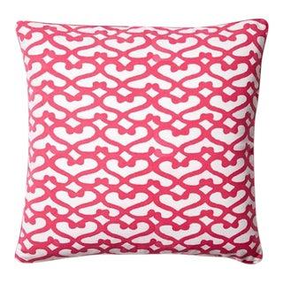 Pink Roberta Roller Rabbit Pillow Cover
