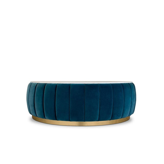 Modern Florence Center Table From Covet Paris For Sale - Image 3 of 3