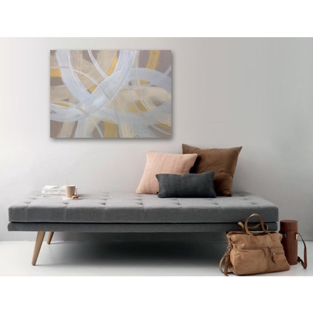 'CELESTiNE' original abstract painting by Linnea Heide - Image 8 of 8