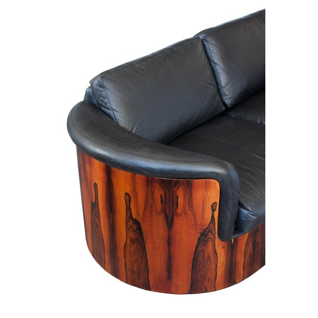 George Mulhauser for Plycraft Rosewood Case Sofa - Image 10 of 11