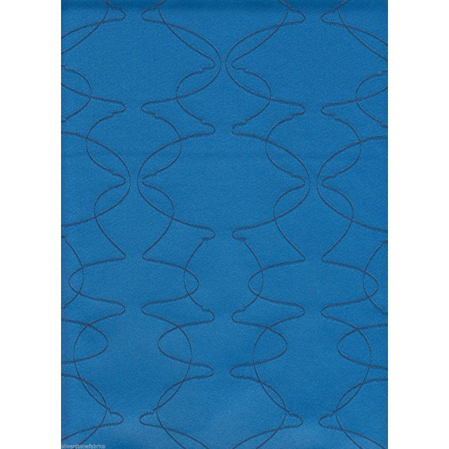 Luna Textiles Reversible Mezzanine in Mermaid Blue - 18 Yds - Image 2 of 3