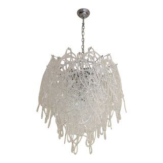 Contemporary Murano Glass Triedo Sputnik Chandelier For Sale