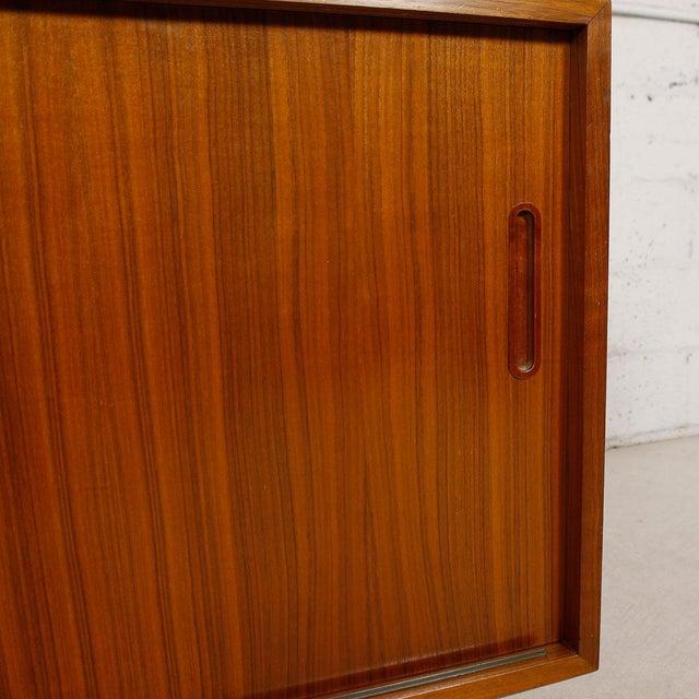 Danish Modern Walnut Sideboard/Media Cabinet - Image 7 of 10