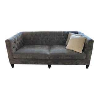 Bernhardt Contemporary Tuxedo Sofa For Sale