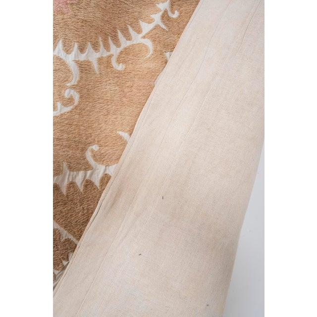 """Tribal Embroidery Wall Decor, Suzani Bedspread 8'2"""" X 11'6"""" For Sale - Image 11 of 13"""