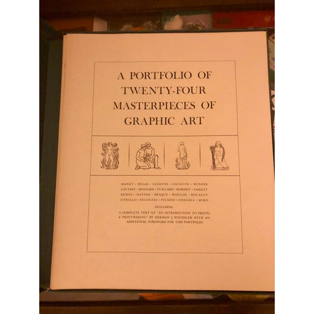 Modern Masterpieces of Graphic Art: A Portfolio For Sale - Image 3 of 10