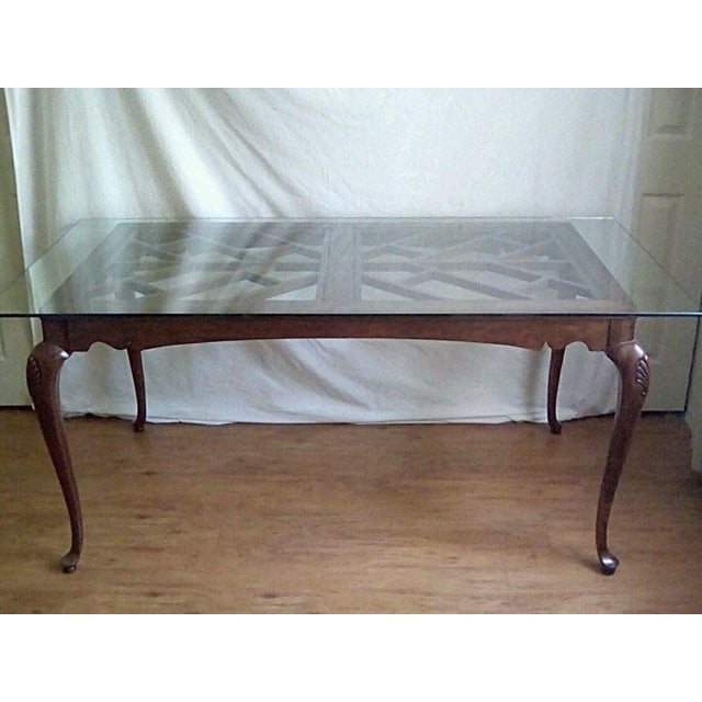 20th Century French Country Dining Table For Sale In Philadelphia - Image 6 of 11