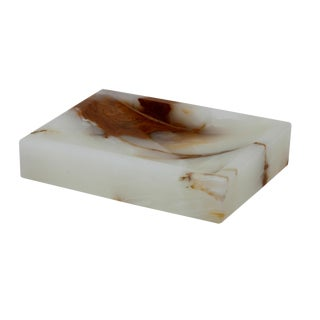 White Marble Soap Dish For Sale
