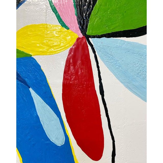 "Exclusive John O'Hara ""Fp 67, 2"" Encaustic Painting For Sale In Saint Louis - Image 6 of 10"