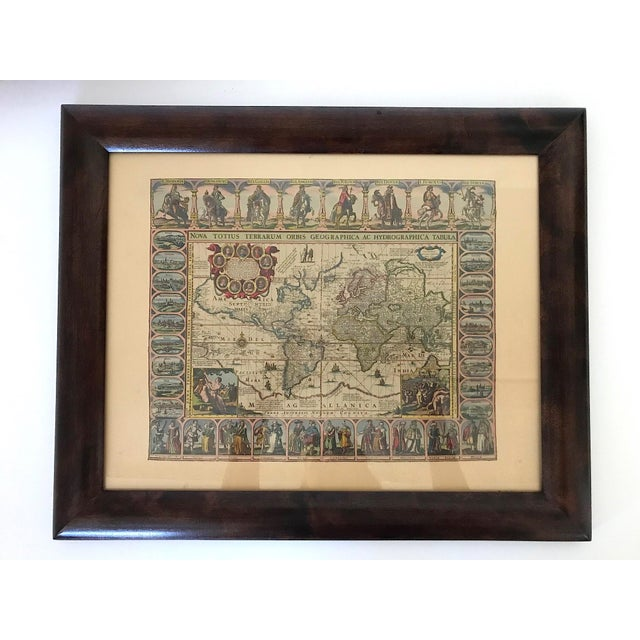 Glass Vintage Framed Maps 1589-1670 by Speed, Ortelius, Hondius & Jansson For Sale - Image 7 of 7