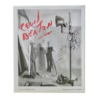 1980s Cecil Beaton: Retrospective Book For Sale
