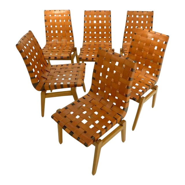 Set of Six Abel Sorenson Chairs for Knoll For Sale