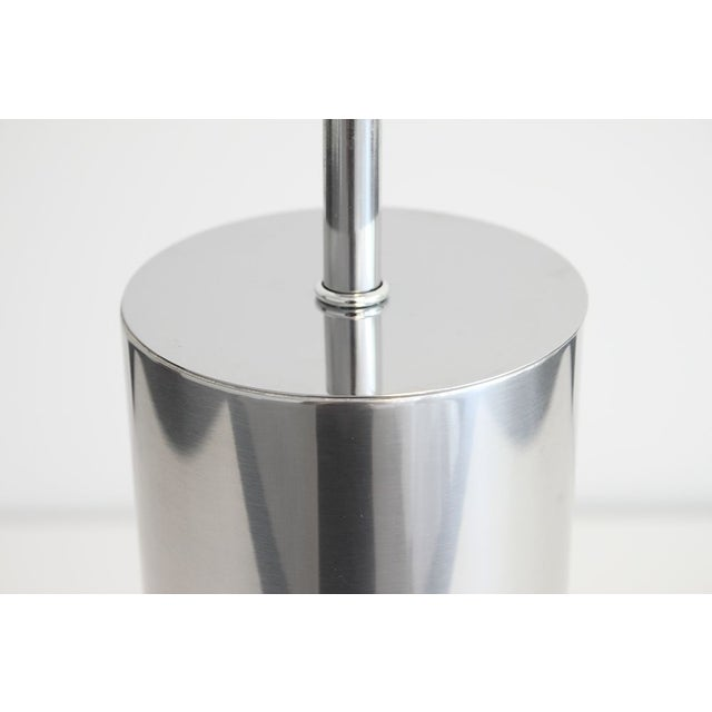 Nessen Steel Cylinder Table Lamp - Image 4 of 4