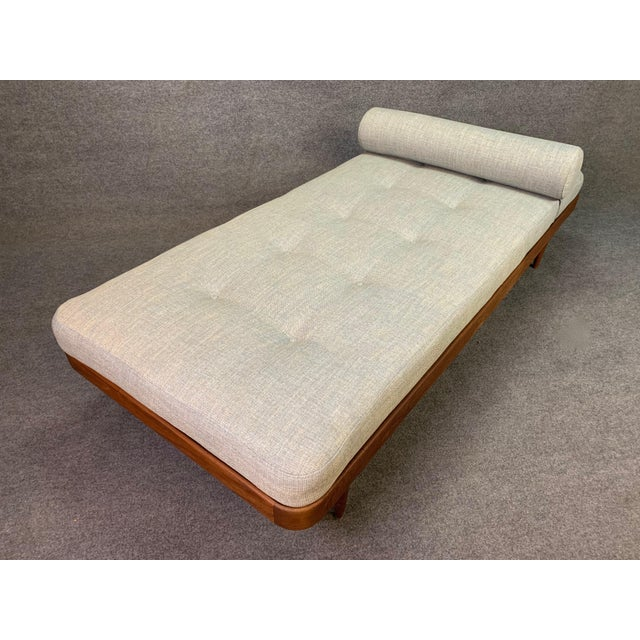1960s Vintage Danish Mid Century Modern Teak Daybed For Sale In San Diego - Image 6 of 11