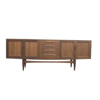 1960s Danish Modern Teak Credenza/Sideboard For Sale