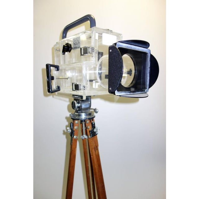 Movie Camera Underwater Housing Circa 1970 by Famous Jaws Cinematographer Jordan Klein. Sold For Sale - Image 4 of 7
