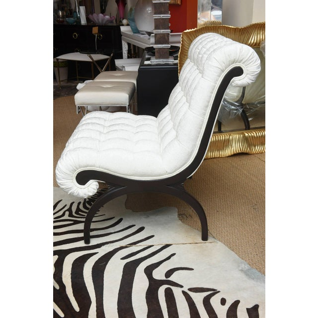 Pair of Vintage Grosfeld House Hollywood Regency Lounge Chairs For Sale - Image 10 of 10
