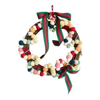 Felt Ball Belles Of Venice Atelier Wreath For Sale