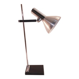 1960s European Chrome Desk Lamp For Sale
