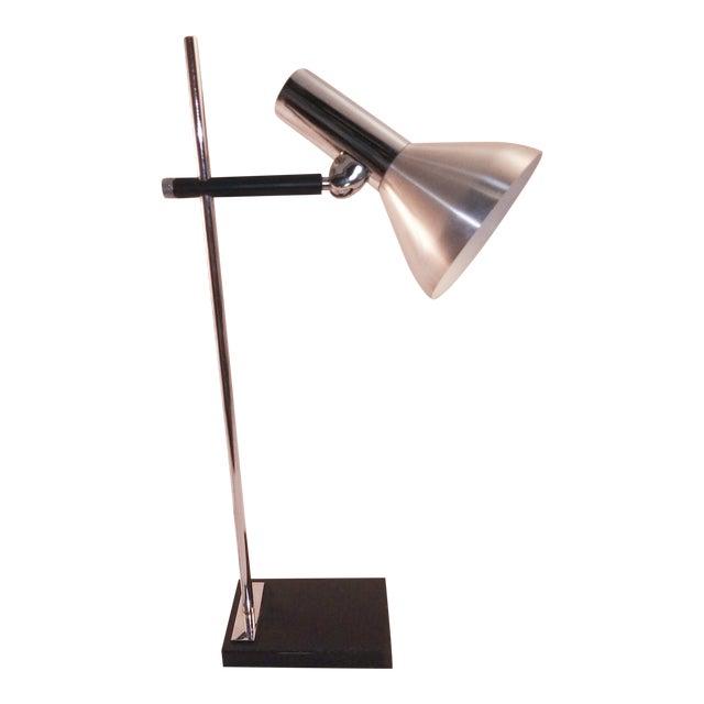 1960s European Chrome Desk Lamp For Sale