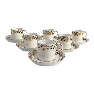 Royal Crown Derby for Tiffany & Co. Cups & Saucers - Set of 12 For Sale