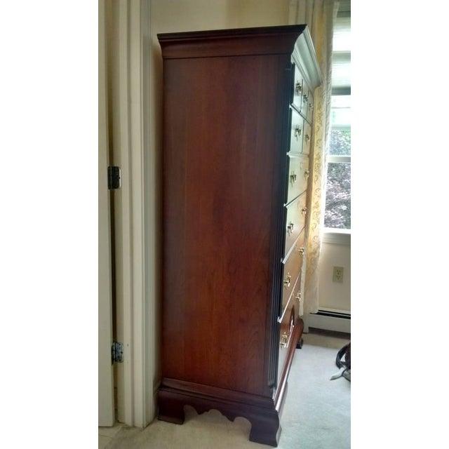 Gustavian 9-Dresser Tall Chest - Image 4 of 7