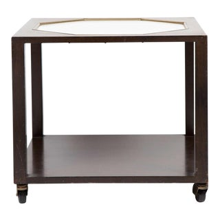 Vintage Harvey Probber Style Walnut End Table For Sale