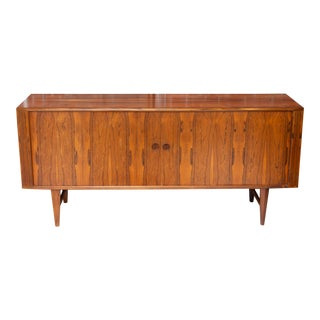 Mid 20th Century Danish Rosewood Credenza For Sale