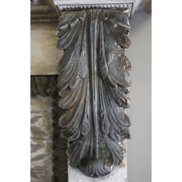 Pair of Large 19th Century Trumeau Mirrors For Sale In Los Angeles - Image 6 of 11