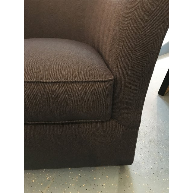 Kenneth Ludwig Chicago CR Laine Ashland Swivel Chair For Sale - Image 4 of 9