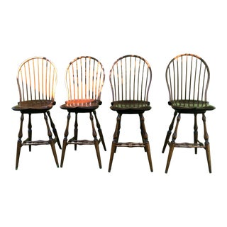 Dr Dimes Tavern Side Chairs With Swivel - Set of 4 For Sale