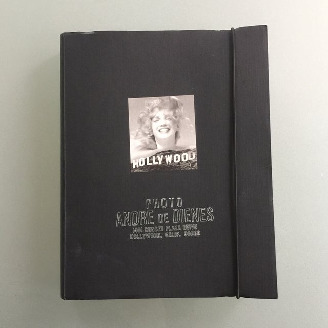 """Marilyn"" by Andre De Dienes Taschen Hardcover Oversize Boxed Book For Sale - Image 10 of 12"