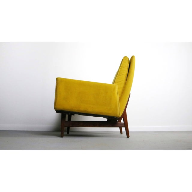 This chair is for the collector with exceptional taste, desiring both the rarest and most profound designs by Jens Risom....