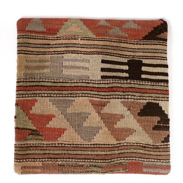 Vintage Kilim Pillow Cover - Image 3 of 3