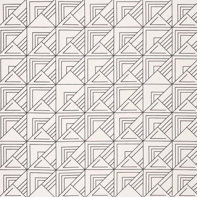 Based on one of Frank Lloyd Wright's original drawings, this geometric pattern has the indelible signature of the master...