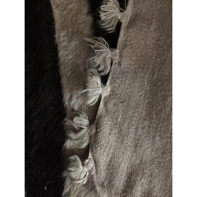 Navajo Style Wool Rug - 4′8″ × 6′9″ - Image 6 of 6