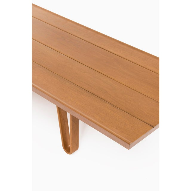 "Wood Edward Wormley ""Long John Bench"" For Sale - Image 7 of 8"