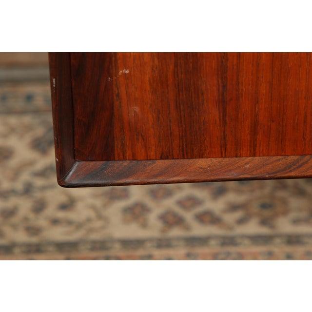 Rosewood Mid Century Danish Modern Rosewood Sideboard by Henry Rosengren Hansen for Brande Mobelindustri For Sale - Image 7 of 11
