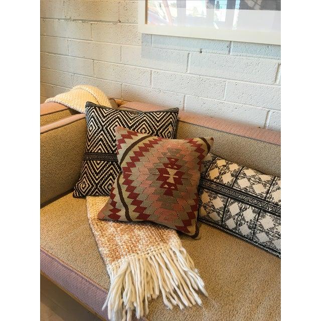 Vintage Kilim Rug Pillow - Image 4 of 6