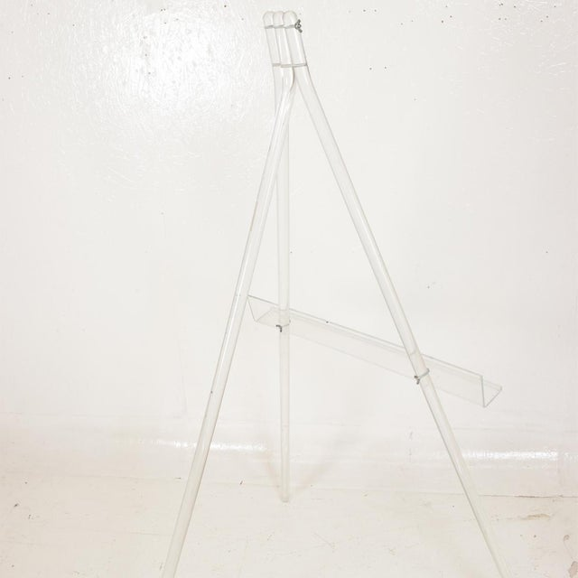 Mid-Century Modern Lucite Easel For Sale In San Diego - Image 6 of 9