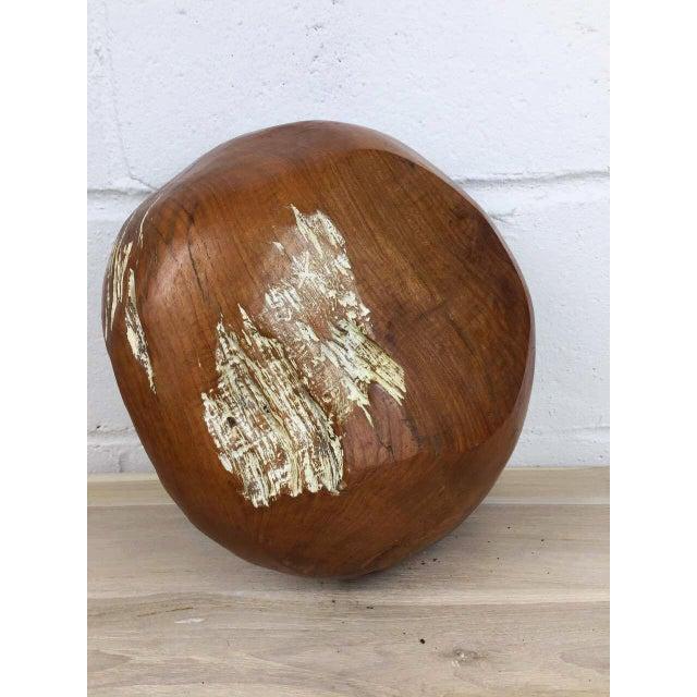 Handmade Teak Wooden Bowl - Image 11 of 11
