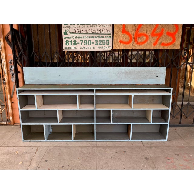 Beautiful custom made industrial styled storage cabinet, can be used indoors and outdoors.