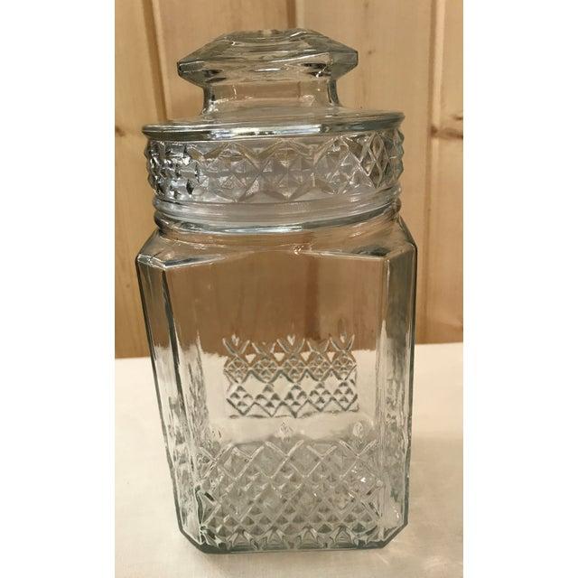 Vintage Square Canister Jar - Image 5 of 11