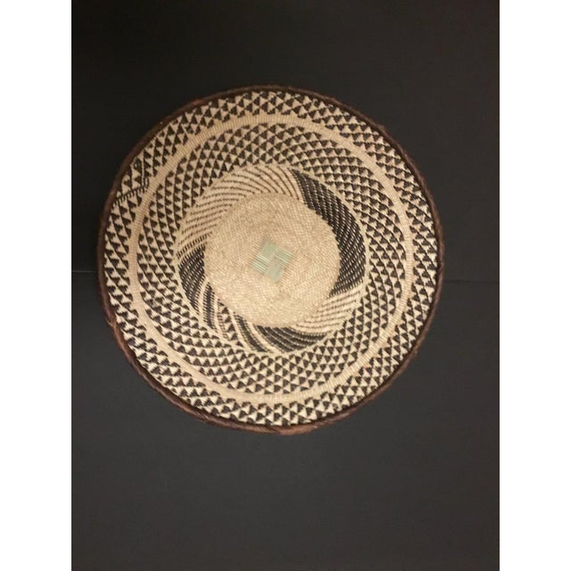 Binga Basket | Tonga Baskets 39 |African Basket | Woven Basket |Zimbabwe Basket |Ethnic Pattern |Ethnic Decor |Wall Hanging Basket - Image 2 of 6